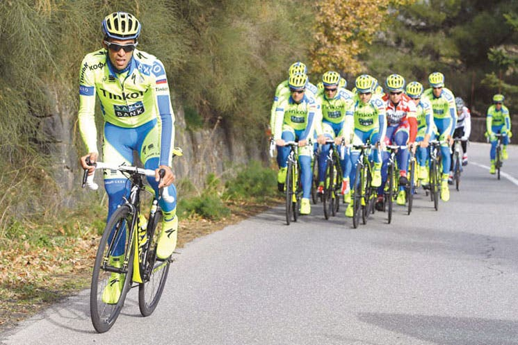 Contador con un equipo de lujo