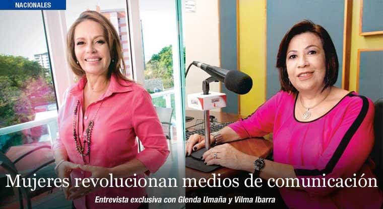 Mujeres revolucionan medios de comunicación