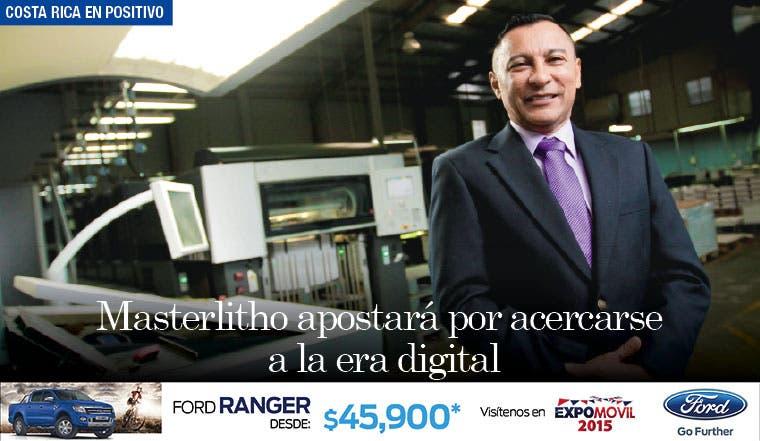 Masterlitho apostará por acercarse a la era digital
