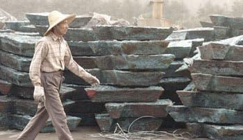 Importaciones chinas de chatarra de cobre caen en su menor nivel