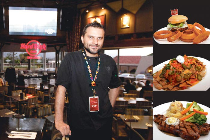 Hard Rock Café lanzará nuevo menú