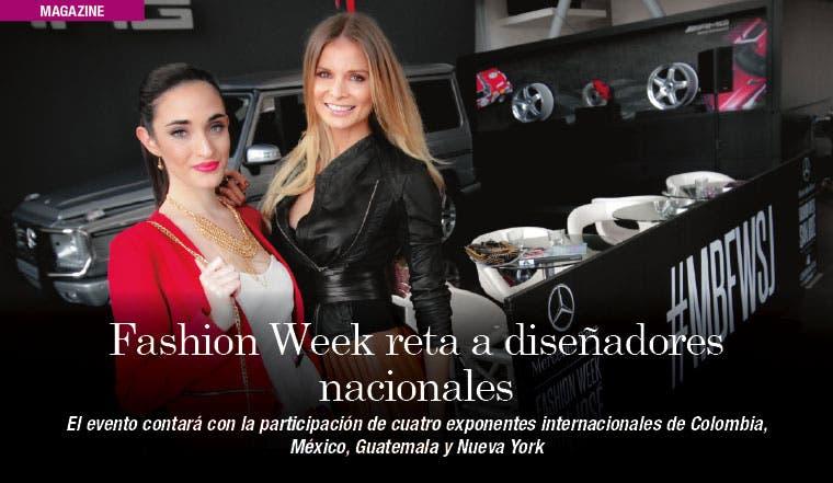 Fashion Week reta a diseñadores nacionales