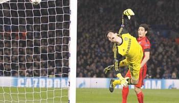Heroico PSG tumbó al Chelsea