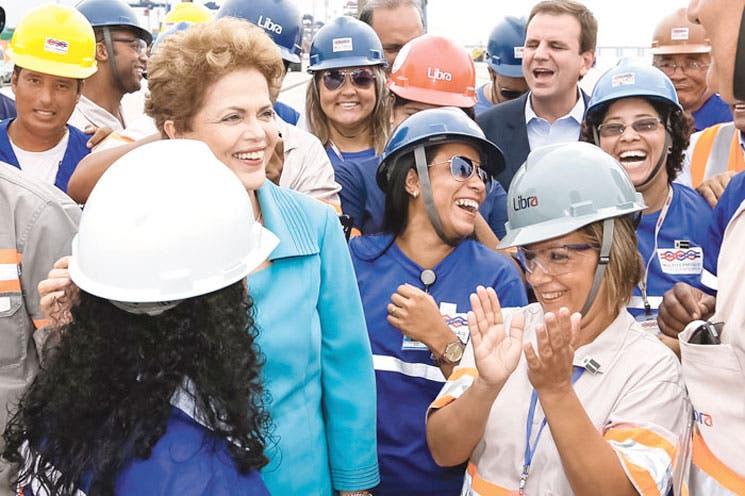 Rousseff impulsará concesiones de puertos terrestres y aéreos