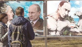 Putin, salvador de Crimea un año después