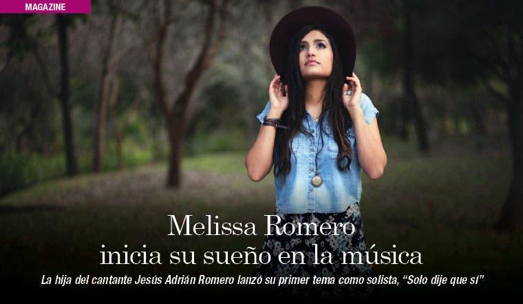 Melissa Romero inicia su sueño en la música