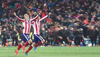 Penales premian al Atlético
