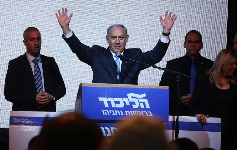 Netanyahu corona las urnas y gana elecciones en Israel