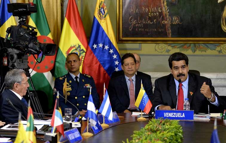 ALBA crea grupo facilitador para mediar entre Venezuela y EE.UU.