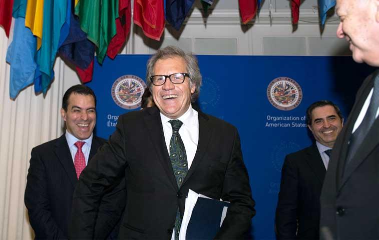 Uruguayo Luis Almagro es el nuevo secretario general de la OEA