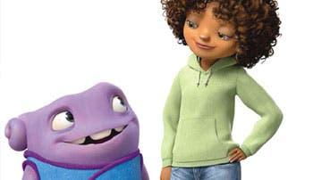 Dreamworks vuelve con la amistad entre Rihanna y un alienígena