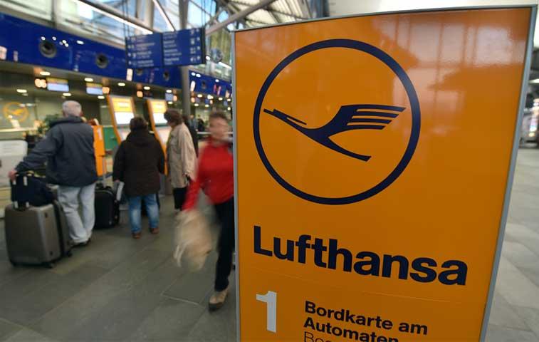 Lufthansa cancela 790 vuelos por la huelga de pilotos