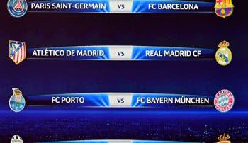 Madrid-Atlético reeditarán la final