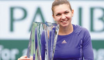 ¡Simona campeona!