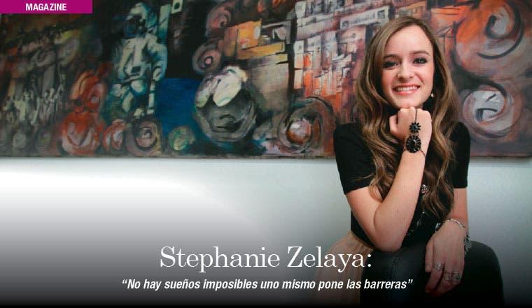 """Stephanie Zelaya: """"No hay sueños imposibles uno mismo pone las barreras"""""""