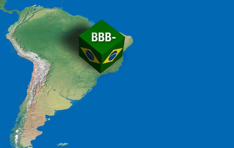 S&P mantiene la calificación soberana de Brasil en BBB-