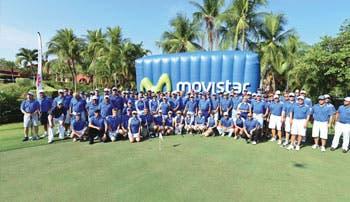 Movistar tuvo su primer torneo de golf