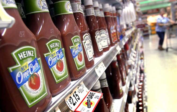 Heinz y Kraft fusionarán sus marcas