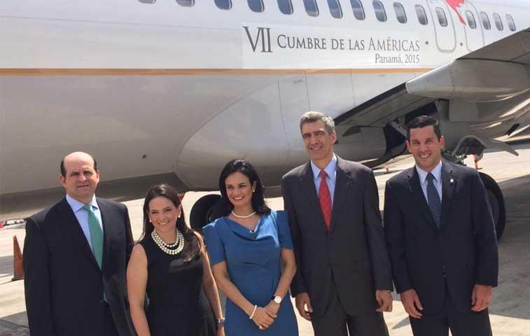 Copa Airlines incorpora logotipo de Cumbre de Américas en 30 aviones