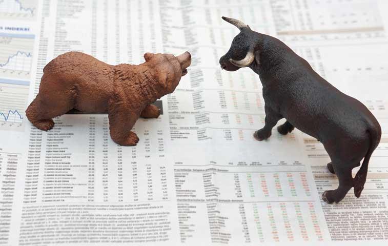 Wall Street frena cuatro días de pérdidas pero cierra otra semana en rojo