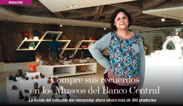 Compre sus recuerdos en los Museos del Banco Central