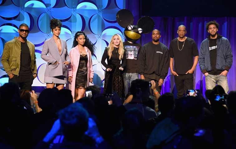 Artistas lideran proyecto que será competencia para Spotify