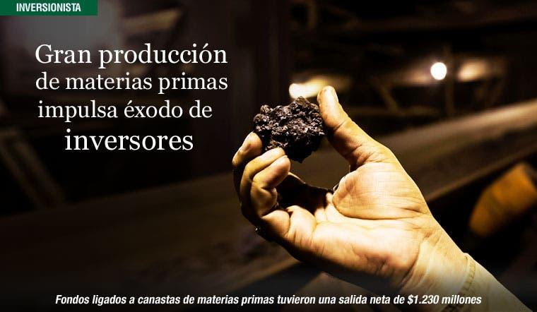 La gran producción de materias primas impulsa el éxodo de los inversores