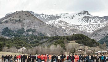 Completada la recuperación de los restos de las víctimas del A320