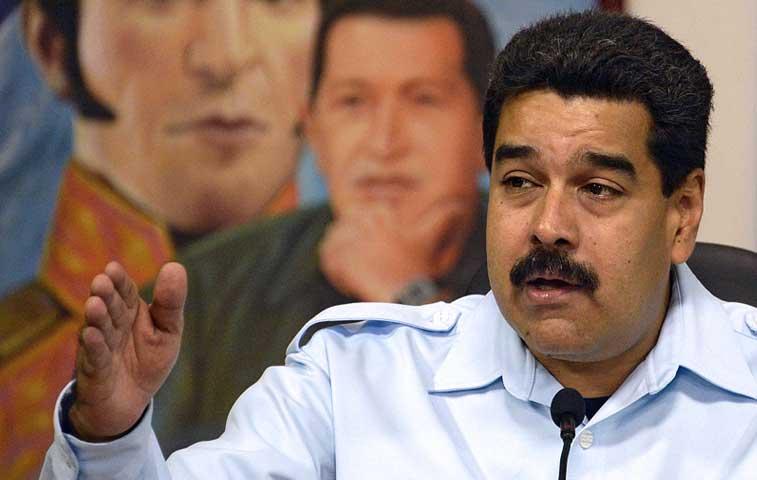 """Maduro convoca a """"tuitazo"""" contra medidas ejecutivas de Obama"""