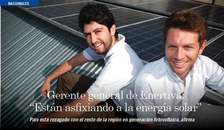 Alejandro Brenes Gerente general de Enertiva: Están asfixiando a la energía solar