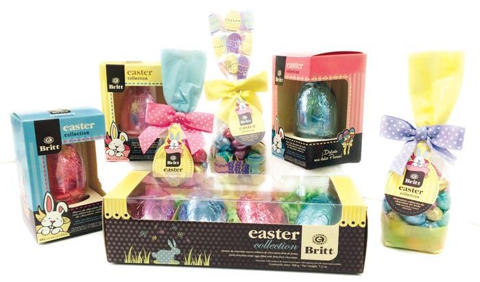 Britt lanzó colección de Pascua