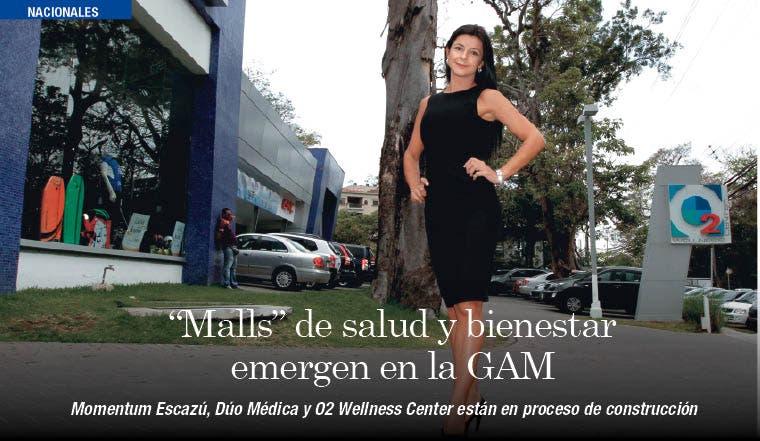 """""""Malls"""" de salud y bienestar emergen en la GAM"""