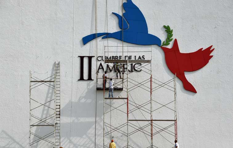 Delegaciones internacionales ultiman detalles para Cumbre en Panamá