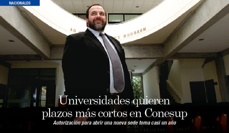 Universidades quieren plazos más cortos en Conesup