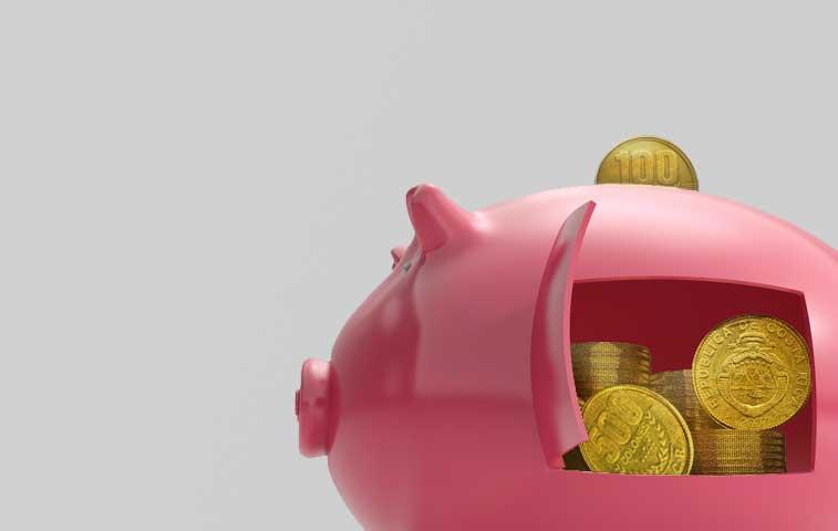 Poco crédito en colones baja la tasa básica pasiva