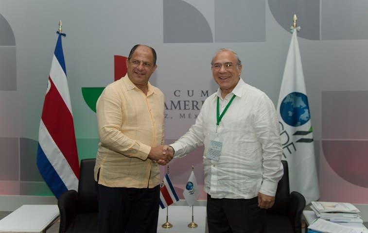 OCDE da luz verde a Costa Rica para su adhesión