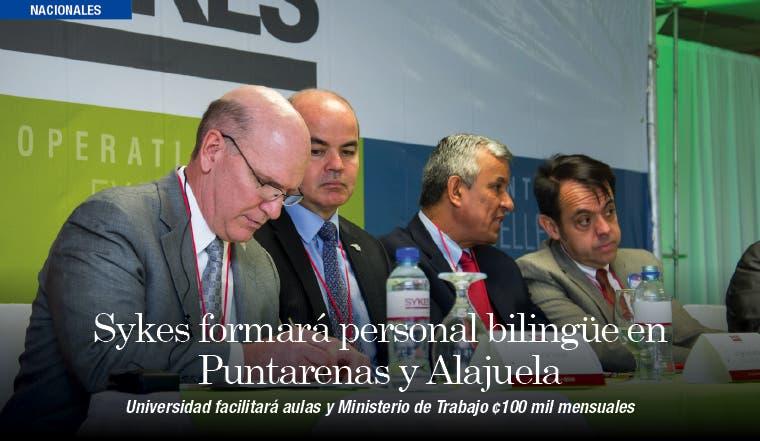 Sykes formará personal bilingüe en Puntarenas y Alajuela