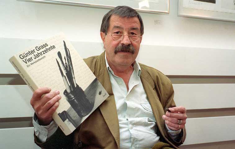 Literatura dice adiós a Premio Nobel Günter Grass