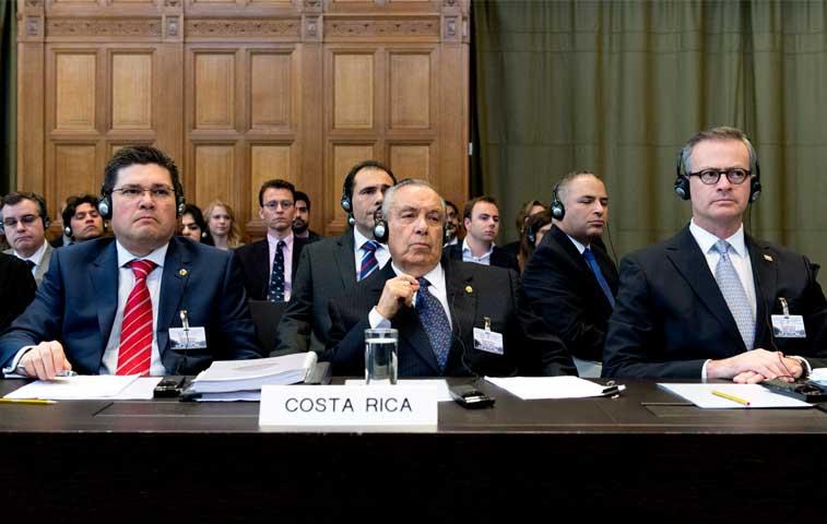 Costa Rica argumenta contra Nicaragua en CIJ