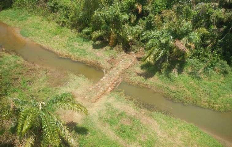 Minae repara daños en Isla Portillos