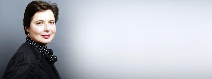 Isabella Rossellini presidirá jurado de Cannes
