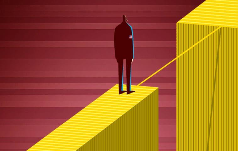 Dow Jones se libra por un pelo de perder todo lo que ha ganado este año