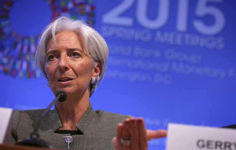 """Lagarde confía en """"acelerar y profundizar"""" el trabajo con Grecia"""