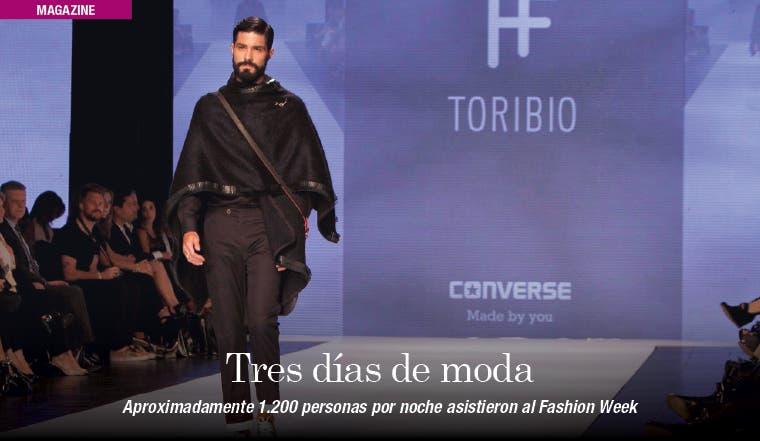 Más de 3 mil personas vivieron el Fashion Week