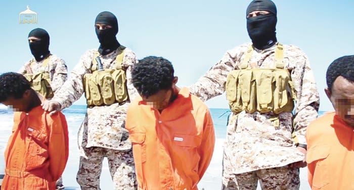 Estado Islámico difunde un video de la ejecución de cerca de 30 cristianos etíopes