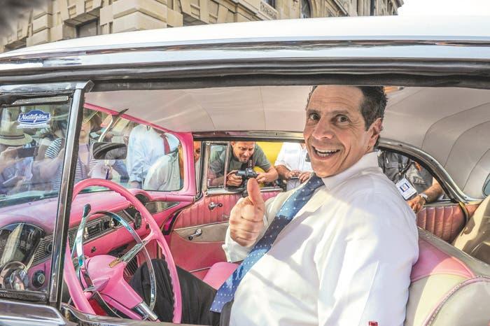 Cuomo busca relaciones comerciales con Cuba