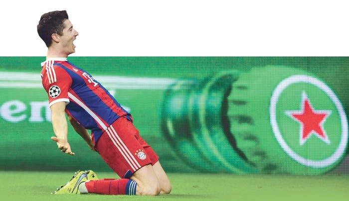 El Bayern sacó el rodillo