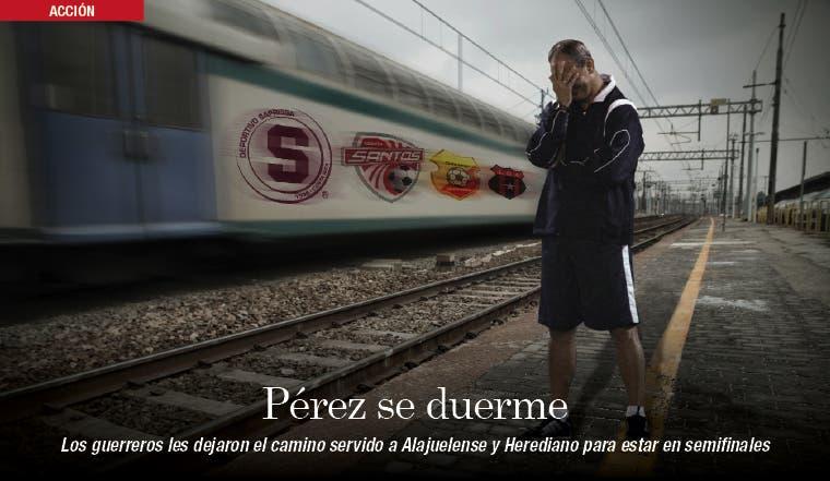 A Pérez se le va el tren