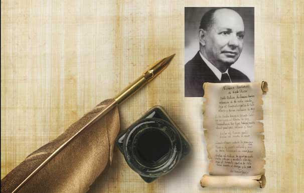 El hombre del canto eterno … un periodista poeta