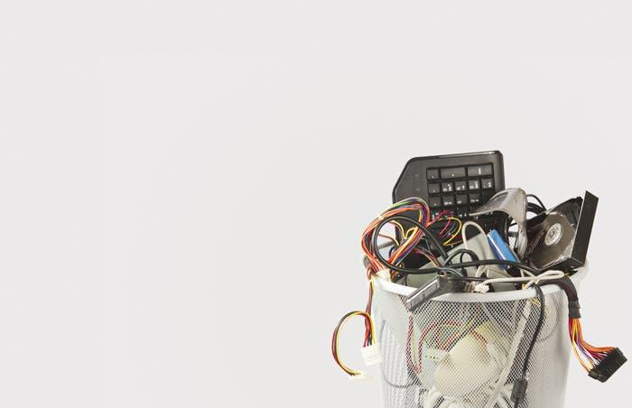 País produce alta cantidad de basura electrónica